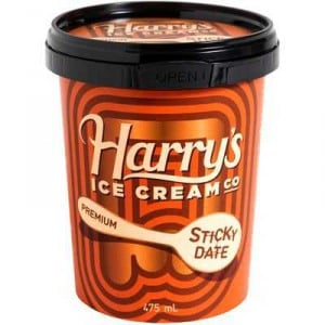 Harry's Ice Cream Sticky Date Pudding