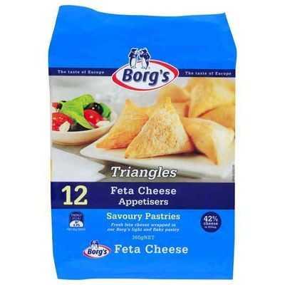 Borg's Triangles Feta Cheese