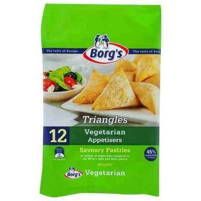 Borg's Triangles Vegetarian