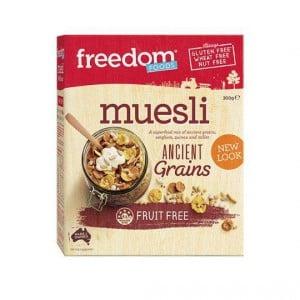 Freedom Foods Muesli 3 Ancient Grains