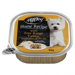 My Dog Home Recipe Adult Dog Food Turkey Vegetables & Herbs