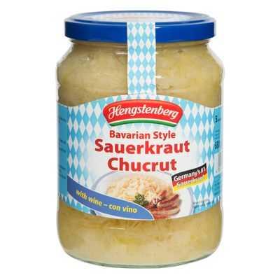 Hengstenberg Bavarian European Foods Sauerkraut