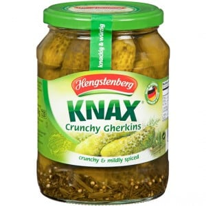 Henstenberg Knax Gherkins European Foods