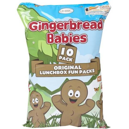 Unibic Snacks Gingerbread Babies