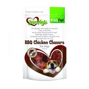 Vitapet Jerhigh Treat Bbq Chicken Chasers