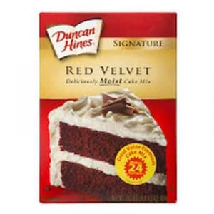 Duncan Hines Baking Mixes Red Velvet Cake