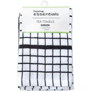 Home Essentials Kitchen Manchester Tea Towel Heavy Weight Terry
