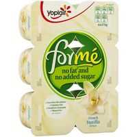 Yoplait Forme Fresh Vanilla Yoghurt