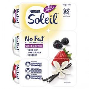 Ski Soleil Vanilla Berry Split Yoghurt