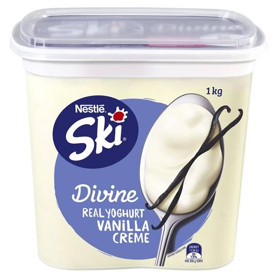 Ski Divine Vanilla Creme Yoghurt