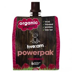 Five:am Organic Raspberry Yoghurt Powerpak
