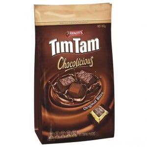 Arnott's Tim Tam Chocolate Chocolicious Bites Original