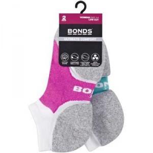 Bonds Ladies Ultimate Comfort Socks Low Cut Size 2 - 8