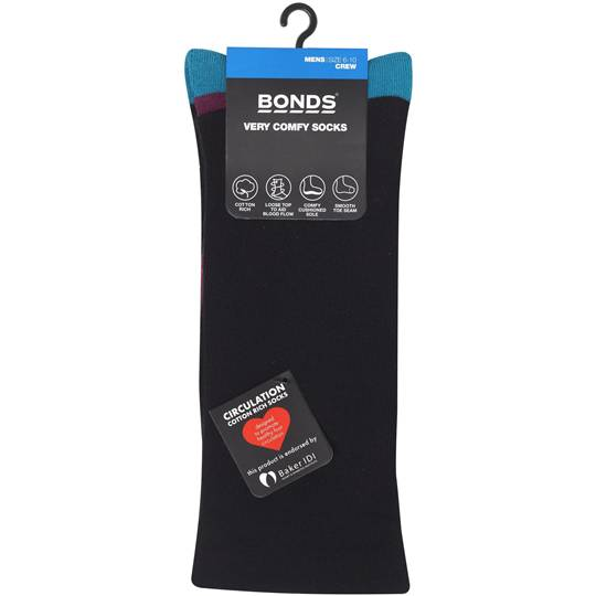 Bonds Mens Socks Very Comfy 6-10