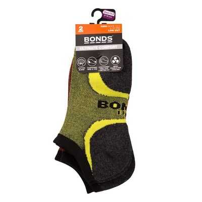 Bonds Kids Ultimate Comfort Socks Low Cut 13+