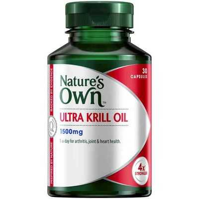 Nature's Own Ultra Krill Oil 1500mg