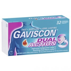 Gaviscon Heartburn Dual Action