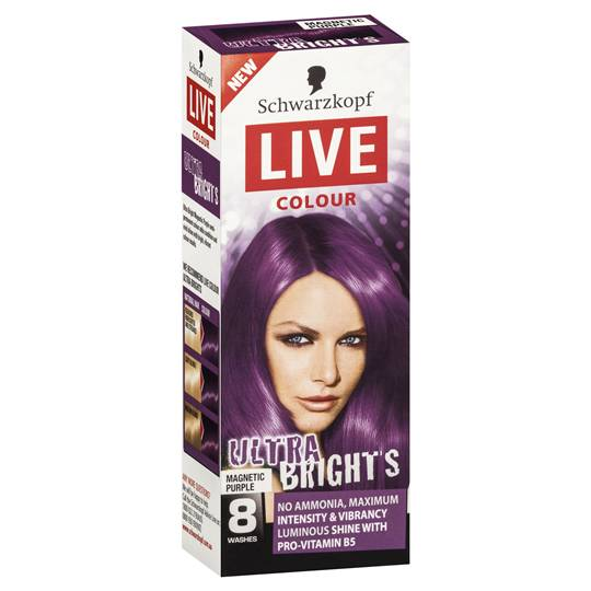 Schwarzkopf Live Colour Ultra Brights Purple