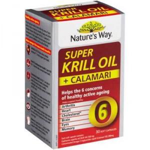 Nature's Way Super Krill & Calamari