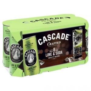 Cascade Soda With Lime
