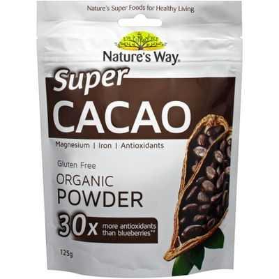 Nature's Way Super Foods Cacao Powder