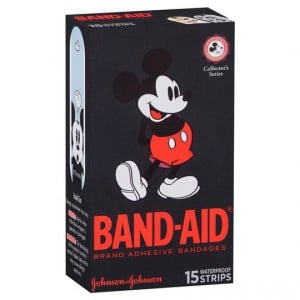 Band-aid Plastic Strips Mickey Mouse