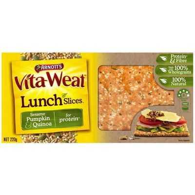 Arnott's Vita-weat Lunch Slices Sunflower Pumpkin & Canola