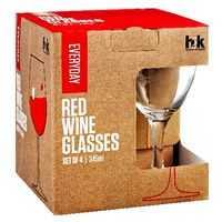 H2k Everyday Glassware White Wine Set