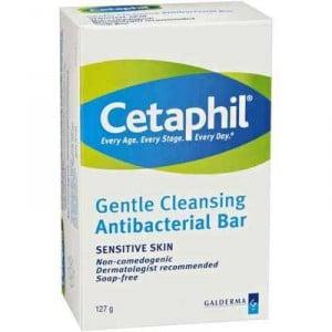 Cetaphil Facial Cleanser Antibctrial Bar