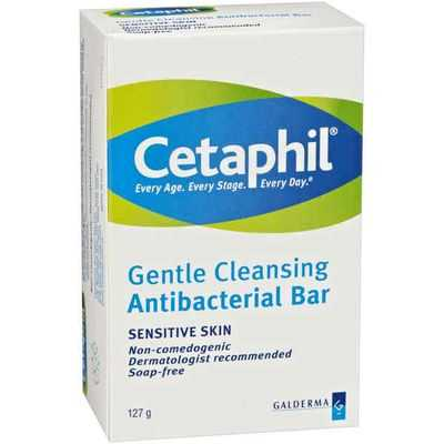 Cetaphil Facial Cleanser Antibctrial Bar