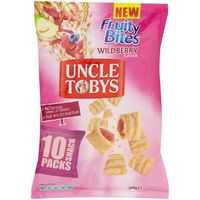 Uncle Tobys Snack Packs Wildberry Fruity Bites
