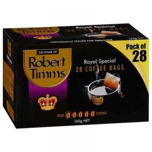 Robert Timms Royal Coffee Bags