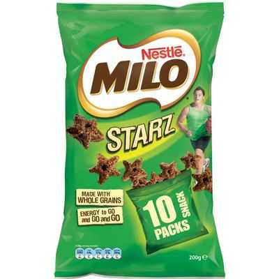Nestle Milo Starz Snack Packs