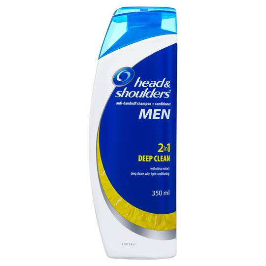 Head & Shoulders 2in1 Deep Clean Citrus Extract Dandruff Shampoo & Conditioner