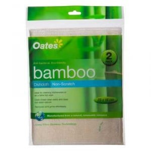 Bamboo Cleaning Cloth Non Scratch