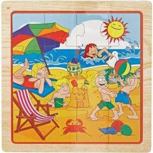 Wooden Toys Jigsaw Puzzle 10 Pieces