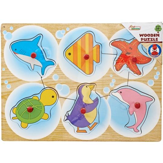 Wooden Toys Peg Puzzle