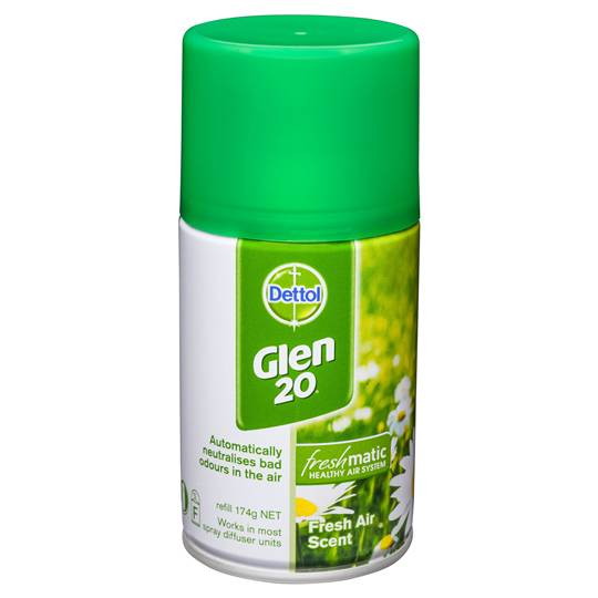 Dettol Glen 20 Disinfectant Freshmatic Refill Fresh