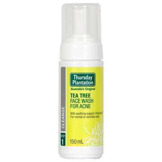 Thursday Plantation Tea Tree Face Wash For Acne