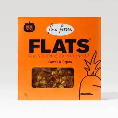 Fine Fettle Flats Carrot & Pepita