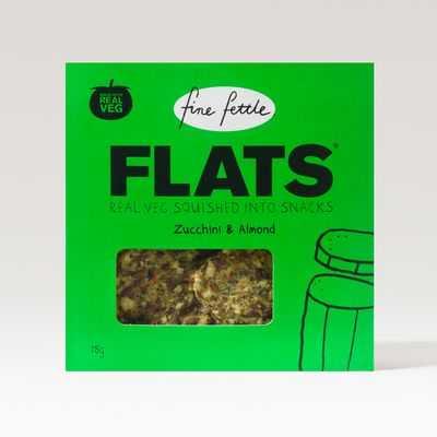 Fine Fettle Flats Zucchini & Almond