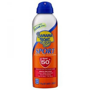 Banana Boat Spf 50+ Sunscreen Sport Spray