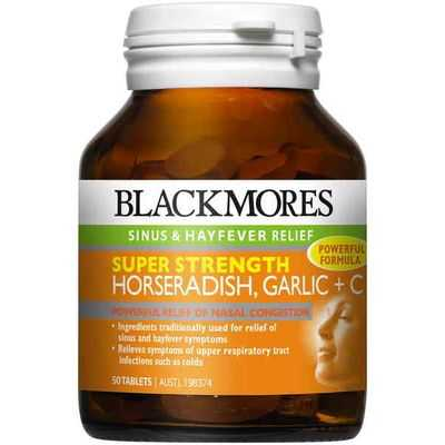 Blackmores Horseradish Garlic Plus