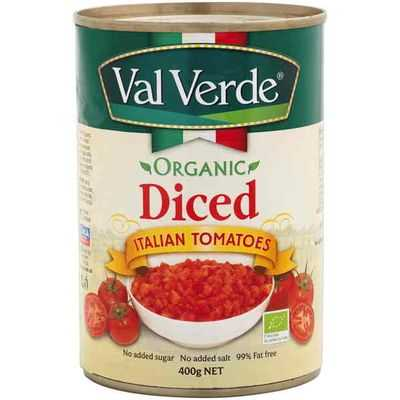 Val Verde Tomatoes Organic Diced