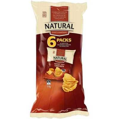 Natural Chip Co Multipack Honey Soy Chicken