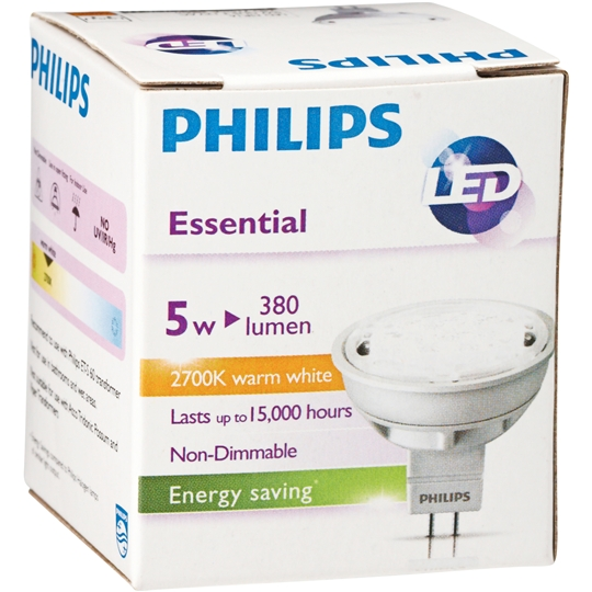 Philips Led Essential 12v Downlight 5w 24degree Warm White