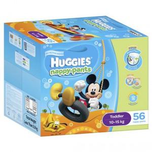 Huggies Nappy-pants Toddler Boy 10-15kgs Jumbo