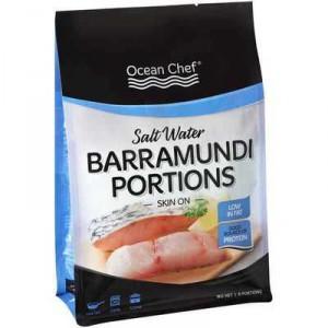 Ocean Chef Barramundi Salt Water Portions Skin On
