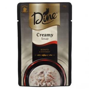 Dine Desire Adult Cat Food Bonito & Whitebait Creamy Soup