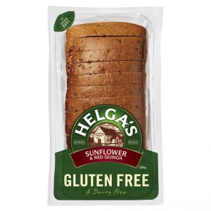 Helga's Gluten Free Bread Sunflower & Red Quinoa